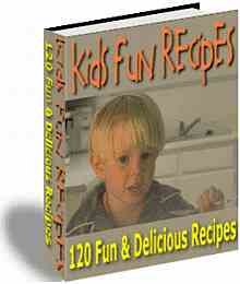 Kids Fun Recipes eBook
