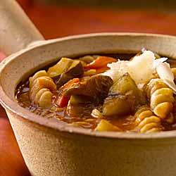 Grilled Ratatouille Soup