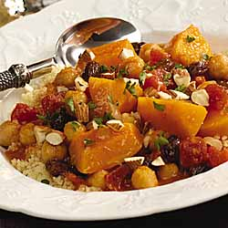 Tomato Butternut *Stew* with Couscous