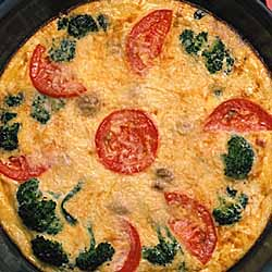 Wagon Wheel Frittata