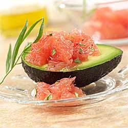 Rio Star Grapefruit and Avocado Salad
