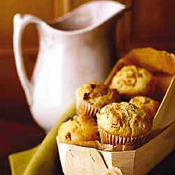 Berry-Walnut Muffins