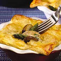 Lemon Chicken & Asparagus Pot Pie
