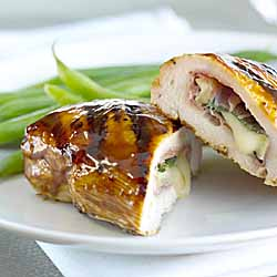 Brie and Sage Stuffed Chicken Breast