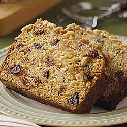 Lemon Fig Bread With Almond Streusel