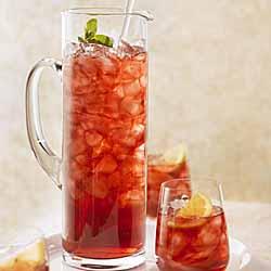 Cranberry Mint Sparkler