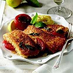 Cat Cora*s Catfish Scaloppini With Vine-Ripened Tomatoes