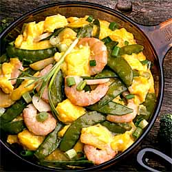 Stir-Fry Shrimp Scramble