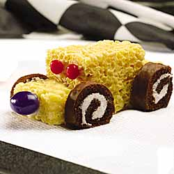 Create A Delicious Race Car