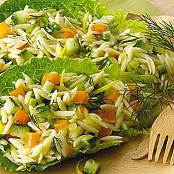 Orzo-Cucumber Salad