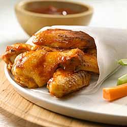 BBQ Buffalo Chicken Wings