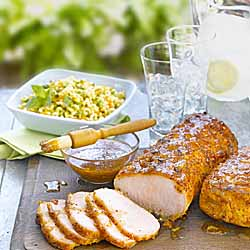 Barbecue Peameal Bacon Roast