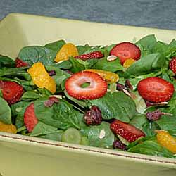 Spinach Fruit Salad