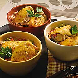 Chicken with Tomatoes and Okra
