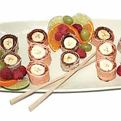 Breakfast Sushi Rolls For Kids