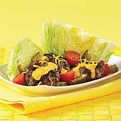 Mini-Cheeseburger Salad