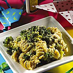 Crazy Curly Broccoli Bake