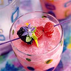 Blackberry - Honeydew Smoothie