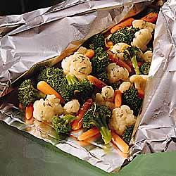 Lemon Herb Vegetable Packet