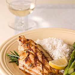Grilled Citrus Rosemary Catfish