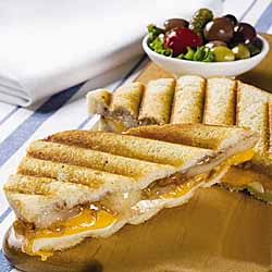 French Apple and Cheese Panini