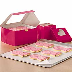 Pink Ribbon Sugar Cookies Reynolds Parchment Paper