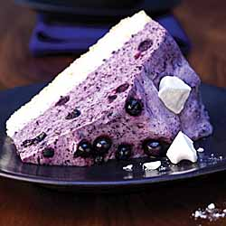 Wild Blueberry Cassis Mousse Cake