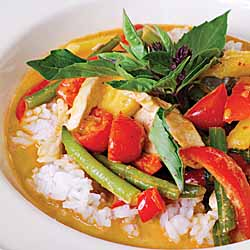 Thai Almond Chicken Curry