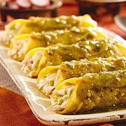 Enchiladas Verdes -Green Enchiladas