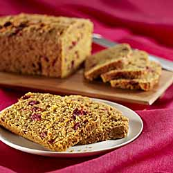 Carrot Cranberry Bread
