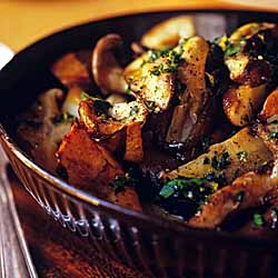 Sauteed Mushrooms with Gremolata