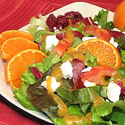 Spicy Clementine Salad