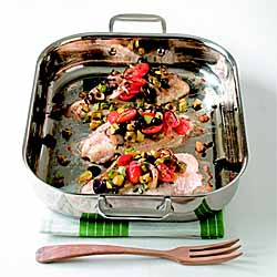 Baked Mediterranean Catfish