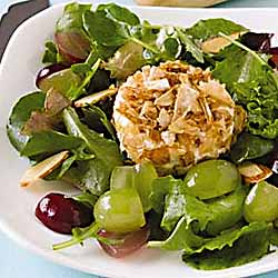 Crisp Onion Goat Cheese Salad