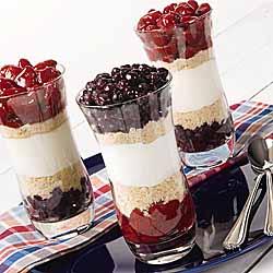 Vanilla Berry Parfait