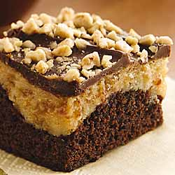 Peanut Butter-Toffee Cheesecake Brownies