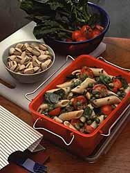 Pistachio Pasta Salad Florentine