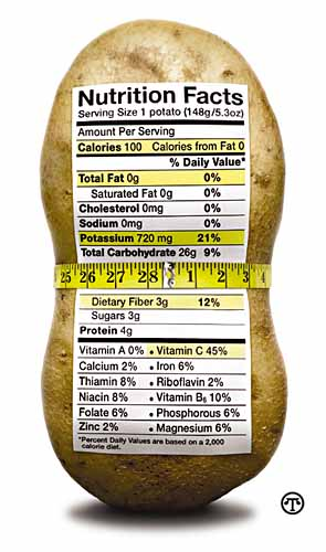 Here's the Skinny on Potatoes
