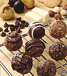 Chocolate Fig Bon Bons