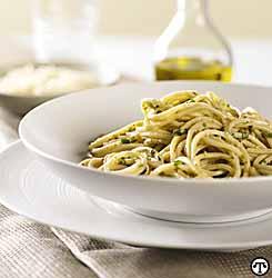 Spaghetti Rigati Con Salsa Umbra