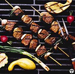 Mediterranean Lamb Shish Kabobs