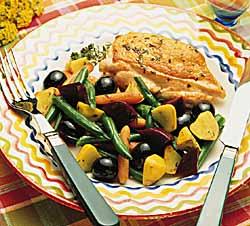 Technicolor Vegetable Saute