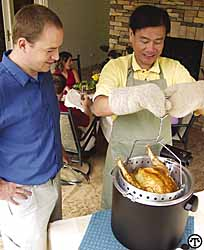 Electric Turkey Fryers Gobbled Up For the Holidays