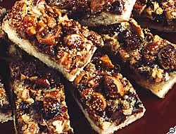 Chocolate Almond Fig Bars