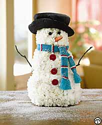 Deck The Table With This Winter Snowman