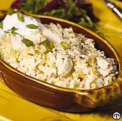 Smoky Mountain Chicken and Rice Casserole