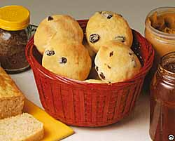 Children's Raisin Buns