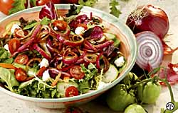 Garden Salad with Balsamic Marinade