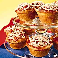 Veggie Pizza Cupcakes
