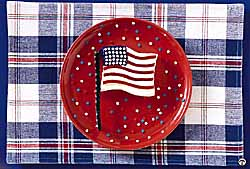Easy-Bake Flag Cake